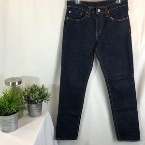 Levi's 511 Dark Wash Skinny Leg Jeans
